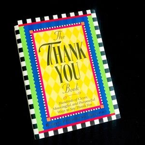 Other - 📚The Thank You Book: Clever Ways to Say Thank You